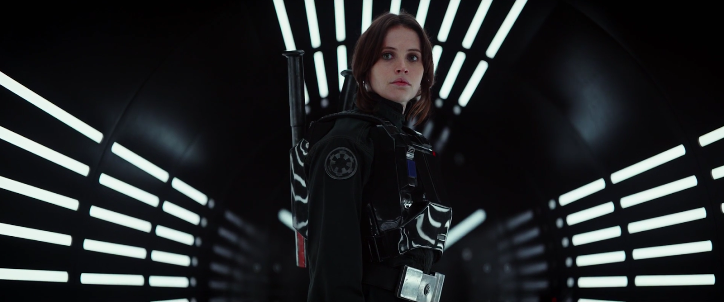 A scene from Rogue One.
