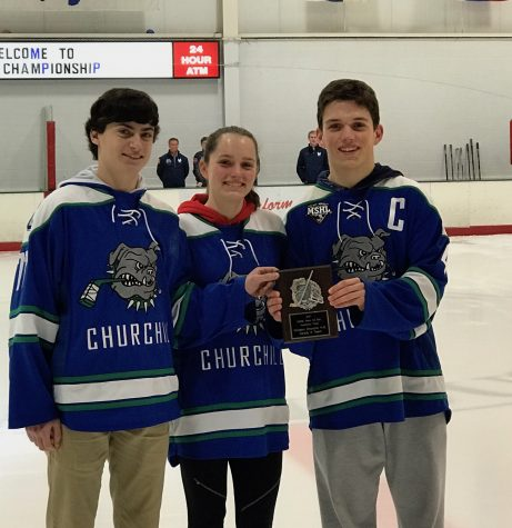CHS Varsity II Hockey Wins MSHL Academic Award