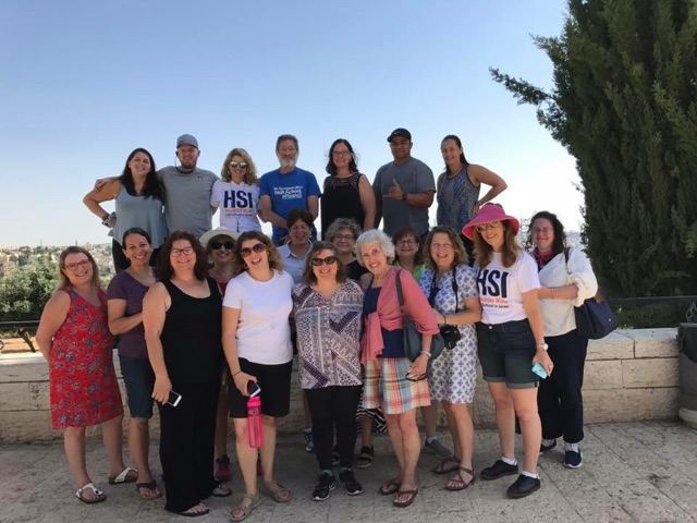 Principal Joan Benz and assistant principal Doreen Brandes paired up with educators from all over the nation in an enriching experience to learn about High School in Israel opportunities.