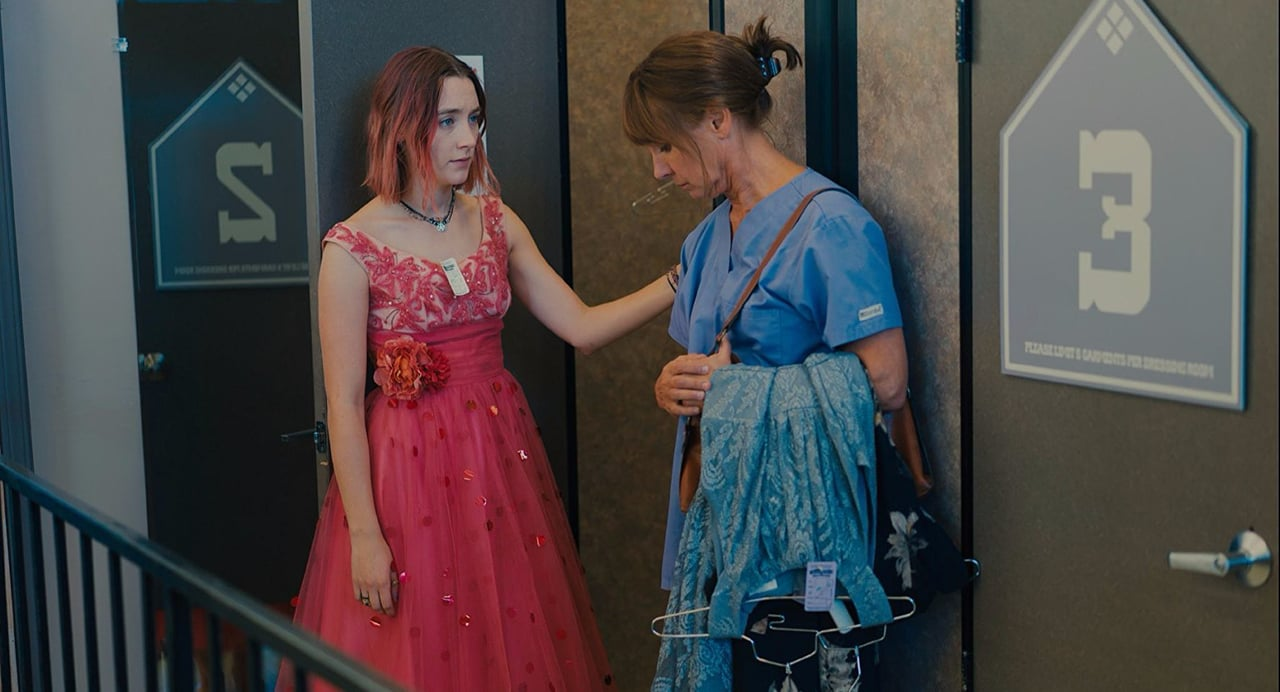 Lady Bird and her mother have a poignant heart-to-heart in this scene from