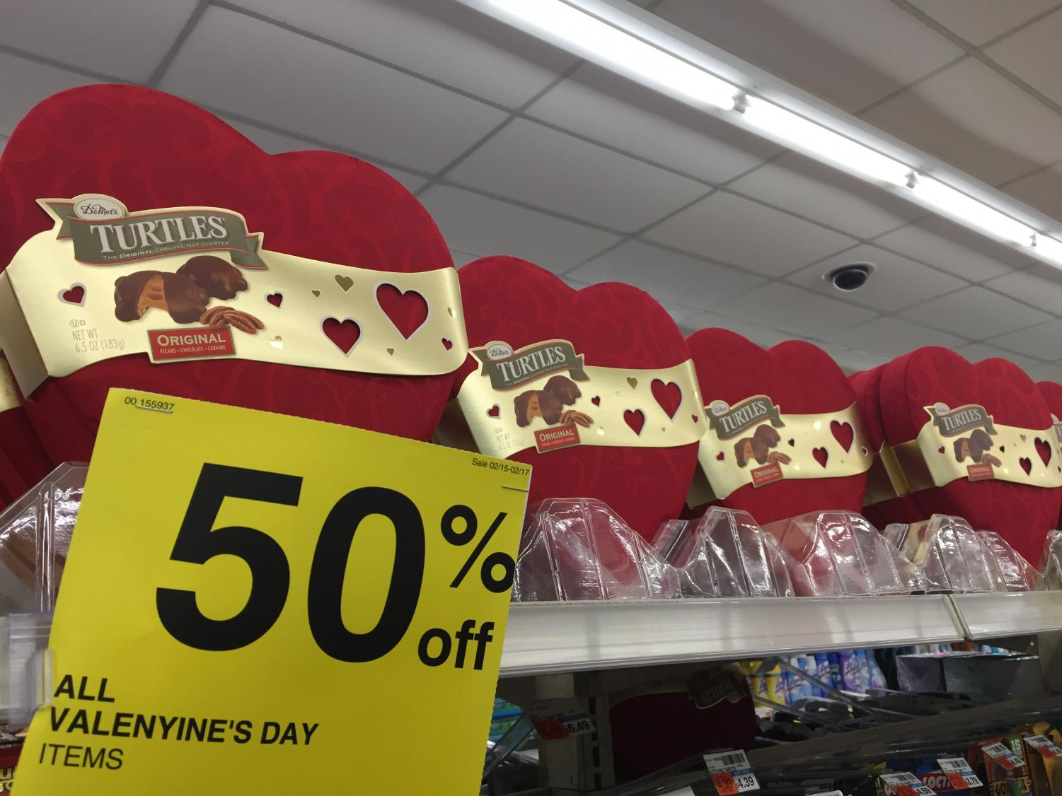 While Valentine's Day spending is in the billions, manufacturers tend to overproduce leading to mass sales shortly after the holiday. Teens opt to spend their money on new traditions such as Galentine's Day.