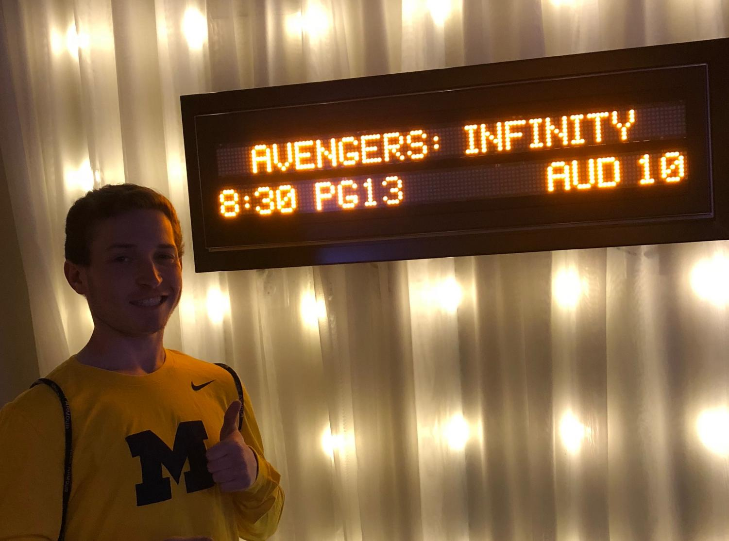Many CHS students have flocked to the movie theaters to watch the highly anticipated film.