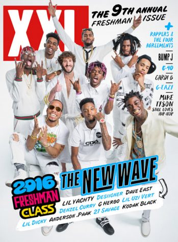 "XXL magazine Freshman List highlights the top ten newest rappers awarding them the title ""XXL Freshman."""