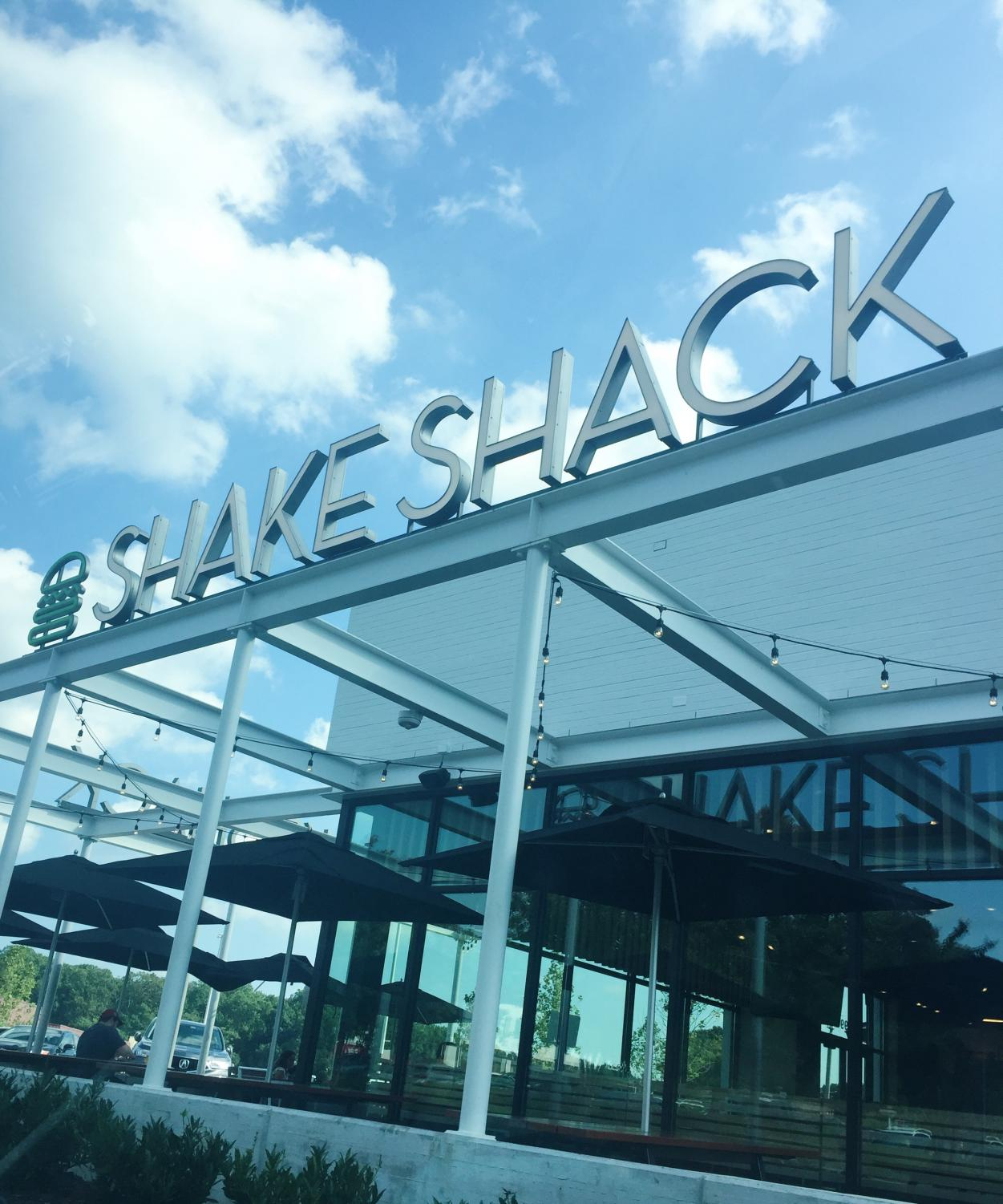 Shake shack opened up in Cabin John Shopping center Sept. 6. Since opening day, hundreds of CHS students and members of the CHS community have opted for a burger in leu of other food options in the center.