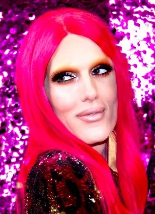 Jeffree Star is a popular beauty guru on YouTube with 10 million subscribers and also created his own line of cosmetics. A few years ago, racist videos from Star's past were released to the public, causing him to lose subscribers and business. He has since made a video apologizing for his actions, but still remains controversial in the beauty community.