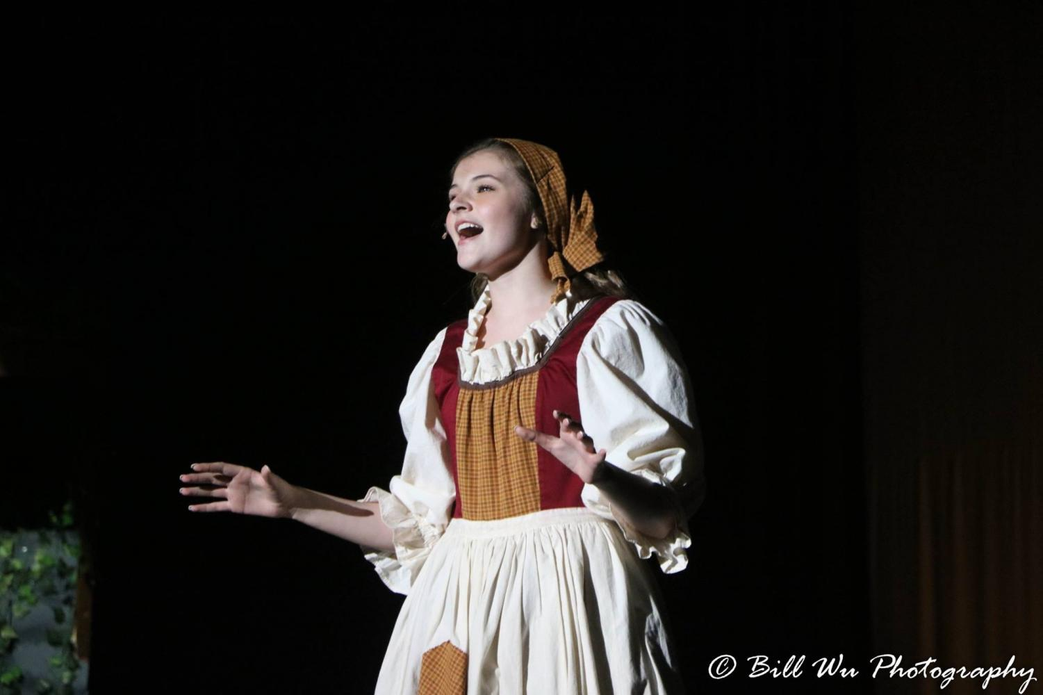 Heather Kirschner plays Cinderella in the winter musical production of