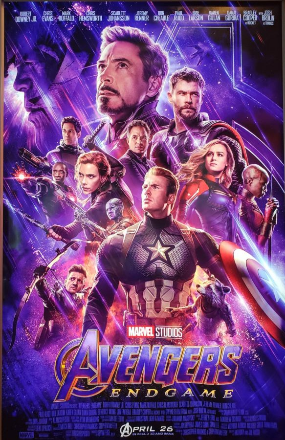 The+%22Avengers+Endgame%22+poster+features+many+popular+characters+from+the+film.+Opening+weekend%2C+the+movie+made+%241.2+billion.+
