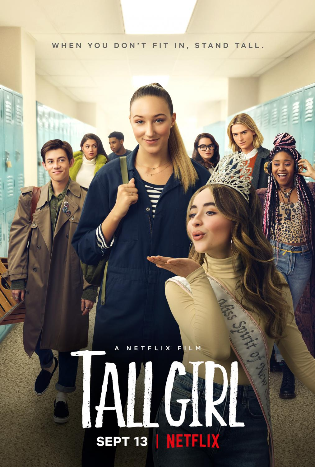 The Netflix film Tall Girl is spearheaded by six foot newcomer actress Ava Michelle.