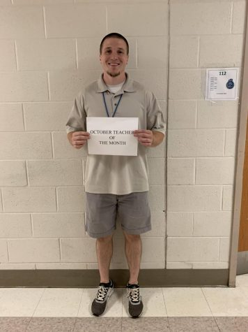 Teacher of the Month: Christopher Forney