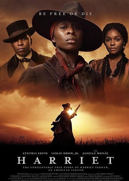 This is the movie poster of the autobiographical film about Harriet Tubman's life. It is currently playing at the Arclight Cinemas of the Westfield Montgomery Mall.