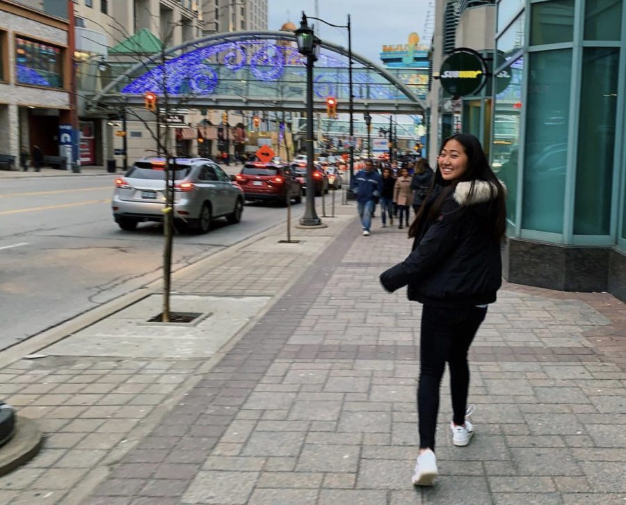 Junior Katherine Yi enjoys her winter break in Ontario, Canada. The new schedule changes allow for longer break times compared to previous years.
