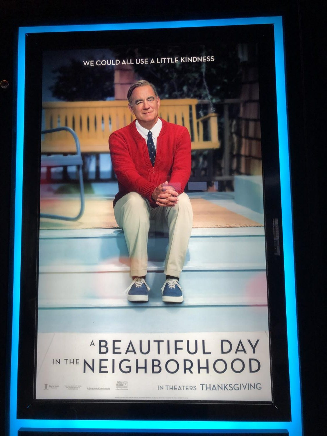 On Nov. 22 2019, the film A Beautiful Day in the Neighborhood was released into theatres all over the United States. Based on the friendship between journalist Tom Junod (Matthew Rhys) and  Fred Rogers (Tom Hanks), this drama highlights the importance of kindness and acceptance during hard times.