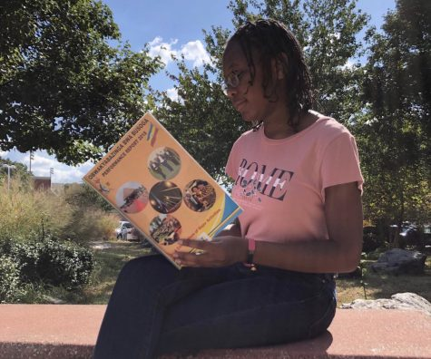 Queen Balina tells her story by posting this photo on the ISA Facebook page. She wants others to know how she feels about her culture, as shown by the book, and encourages others to share as well.