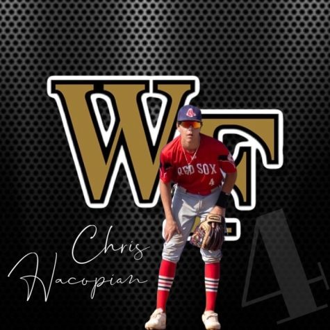 As only a freshman at WCHS, Chris Hacopian committed to Wake Forest University for baseball.