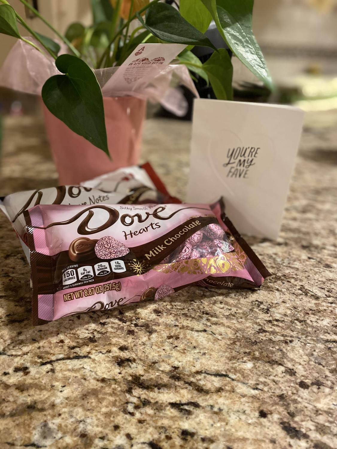 Dove chocolates are the perfect treat for both you and your friends to enjoy on Valentines Day.