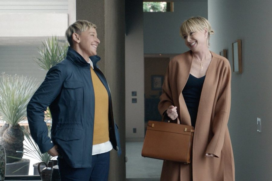 Ellen Degeneres and wife, Portia De Rossi, are featured on an Amazon Alexa ad that was showcased during the superbowl.