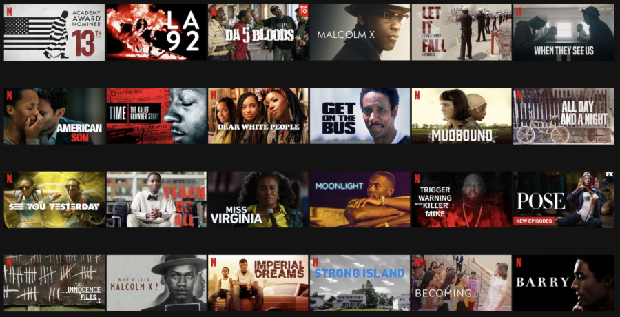 Looking+for+more%3F+Netflix+has+created+a+Black+Lives+Matter+Collection+that+features+TV+shows+and+movies+that+highlight+important+issues+and+creative+stories.