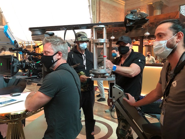 The camera crew of