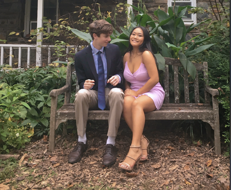 Seniors Holly Shimabukuro and Quinn Cook plan to spend their Valentine's Day on a hike. They have been forced to be more careful in planning dates due to the COVID-19 pandemic.