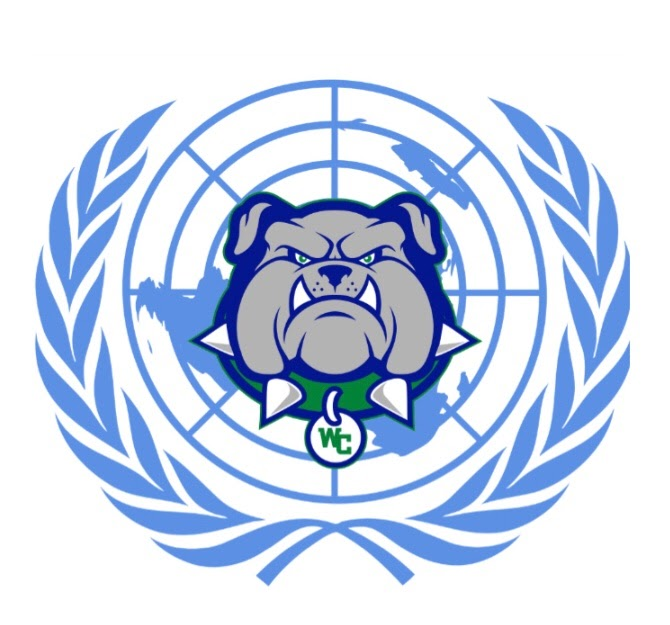 WCHS's Model UN team is hosting their first ever conference in April. Students and teachers work together to make this event a reality.