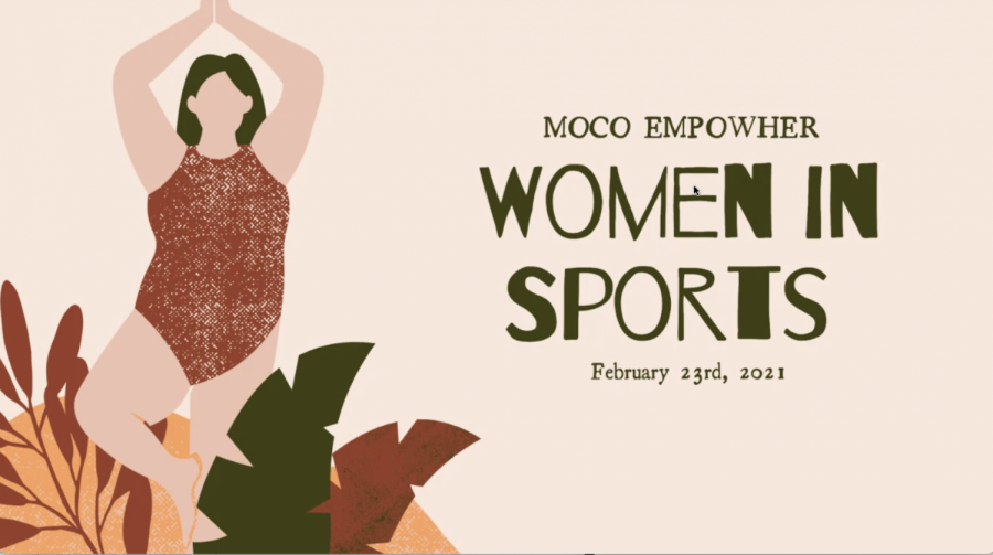 MoCo EmpowHERs Women in Sports was an hour and a half event. Around 40 people from around the county participated.