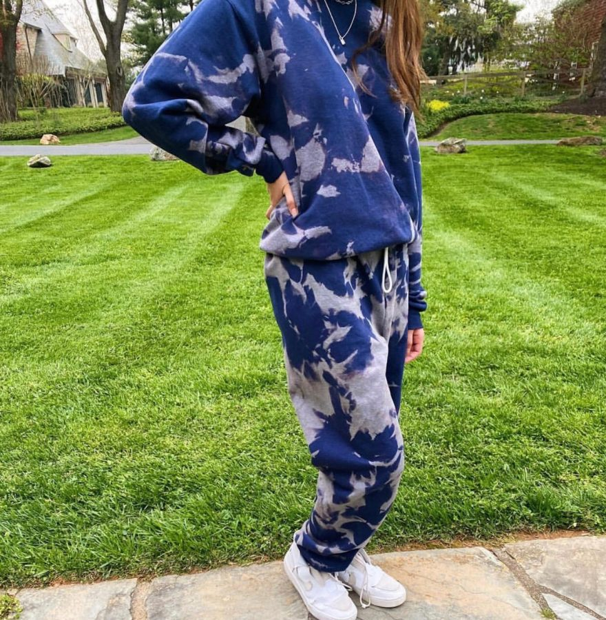 WCHS senior Ella Kaminsky started her own tie dye clothing brand called Sets and Sweats. Using Etsy to sell her product, Kaminsky now makes tie dye sweat sets as well as tank tops and college apparel.