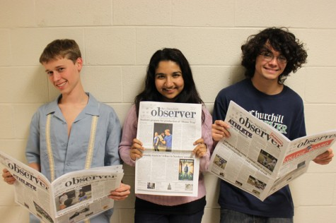 NSPA recognizes 'Observer'