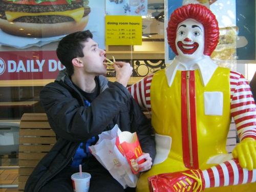 Senior keeps decade-long McDonald's fries habit
