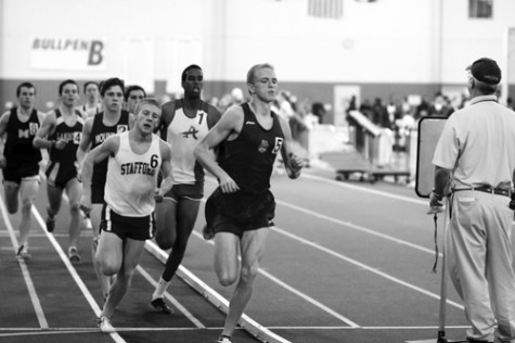 Senior Will Conway won the 800m race at Regionals Feb. 9.