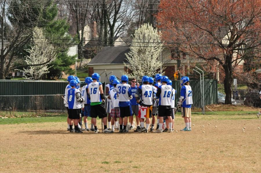 Lacrosse+team+starts+season+with+high+expectations+against+The+Heights
