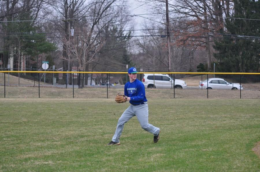 Baseball shows promise in first scrimmage win
