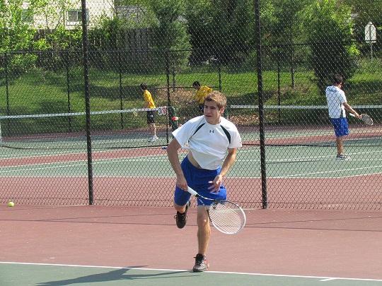 Boys tennis undefeated