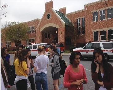 Auditorium fire shows student and teacher preparedness
