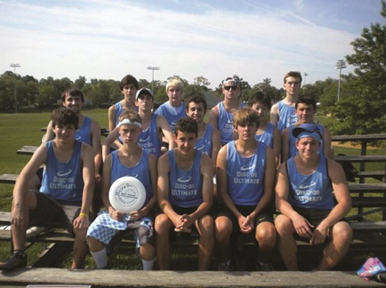 Ultimate Frisbee is state runner-up in second season