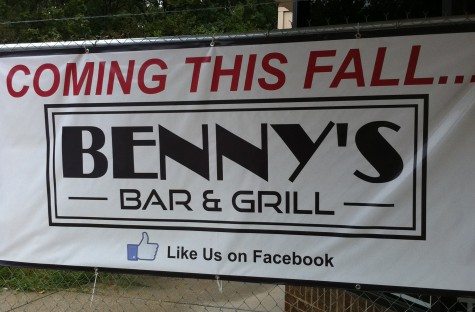 Benny's Bar & Grill is one of the new attractions at Cabin John Mall.