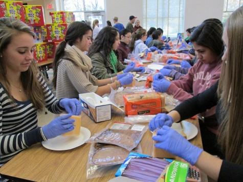 Students, staff give back during CHS' Day of Service