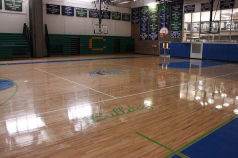 Gym renovation ends