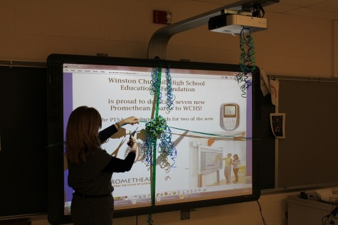New Promethean boards grace CHS classrooms