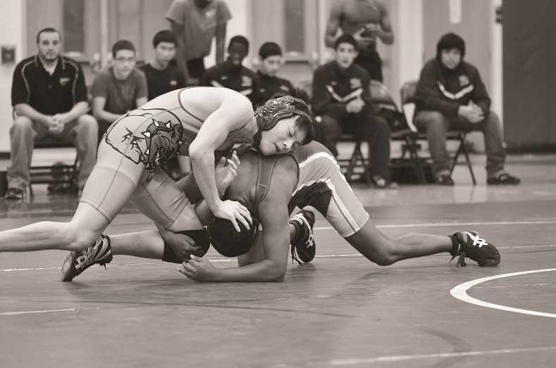 Wrestling struggles after losing key athletes