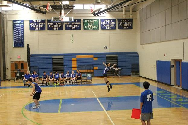 Despite the young talent, volleyball aims high for the rest of the season.