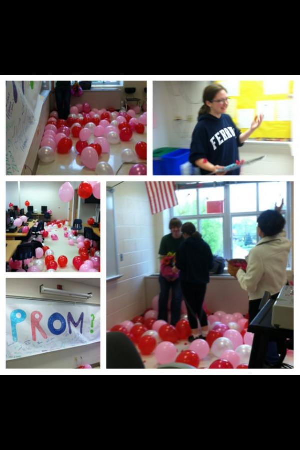 Students take 'promposals' to a whole new level