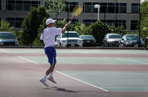 Despire perfect season, tennis finishes second at counties