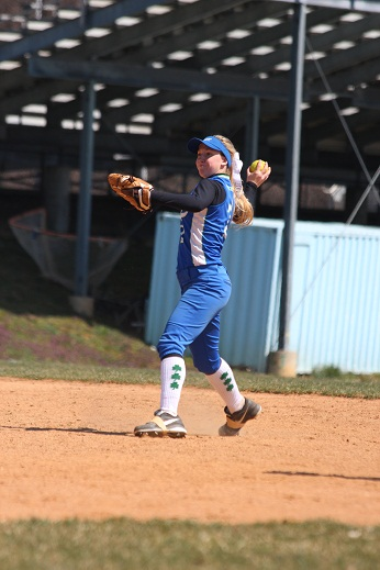 Young softball team faces first round playoff exit
