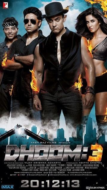 New Bollywood Movie, Dhoom3, brings all the action