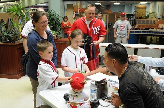 Store offers autograph sessions with the pros