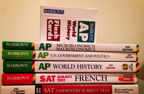 Most students buy AP review books, adding to the total amount they pay for AP classes.