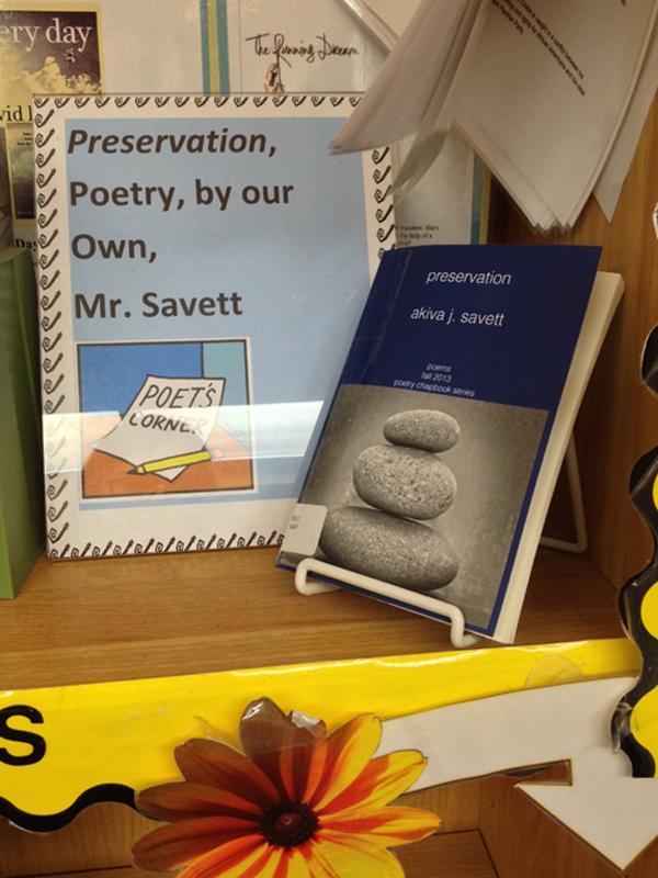 Savett shares poetry