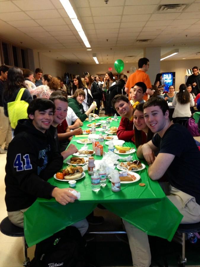 Seniors celebrate at senior breakfast
