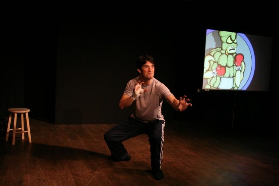 Lee J. Kaplan presents his show Bully at CHS