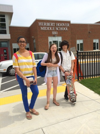 Middle Schoolers look forward to becoming Bulldogs